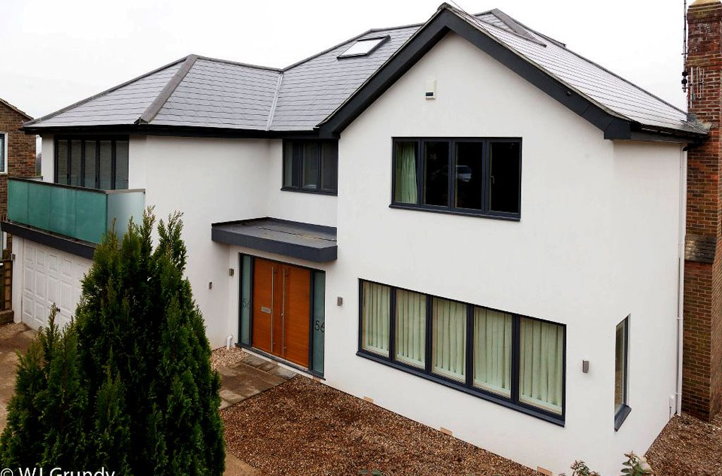 Suburban house remodelled