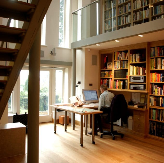 Celebrity Author's Personal Library