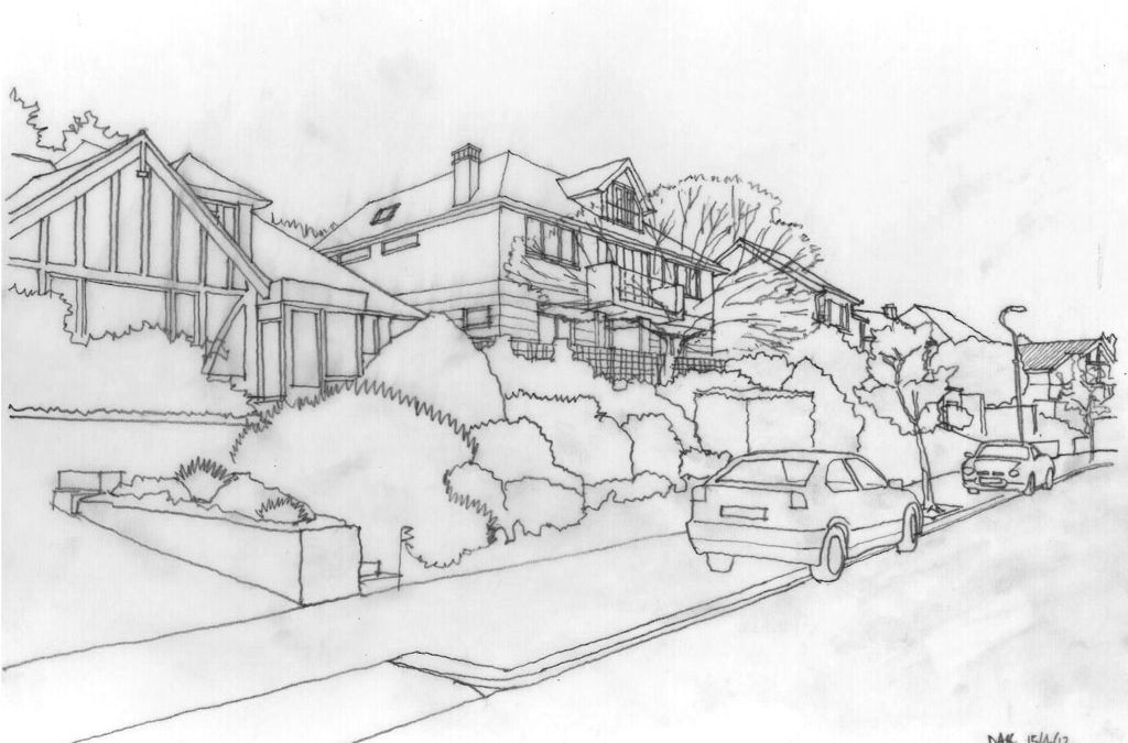 Luxury modern living in new house built on Palladian design principles