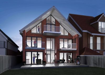 Modern family house with a hint of Edwardian grandeur