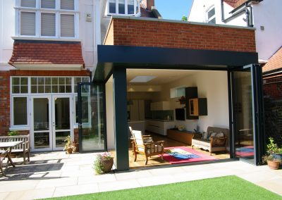 Finding the right arrangement of the rear spaces makes all the difference to this house in Hove