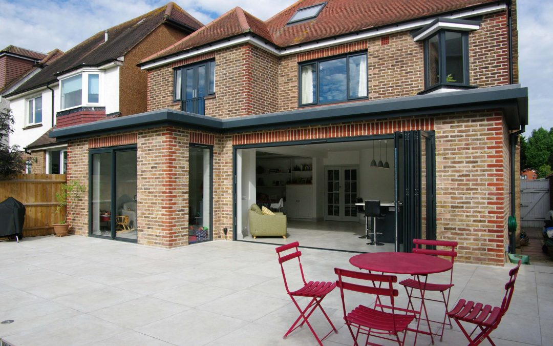 Contemporary Kitchen Garden room extension with hallmark details to make it special