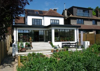 ARTS & CRAFTS HOUSE RE-NEWED & ENLARGED FOR GARDENING ENTHUSIASTS